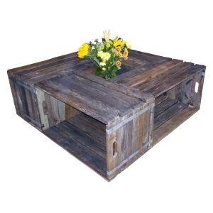 4-Crate coffee table