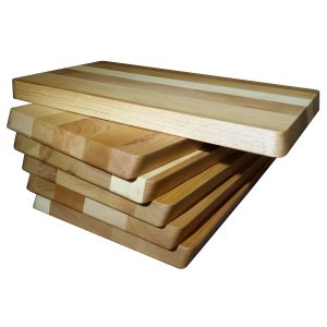 Small rectangular cutting board in European Beech