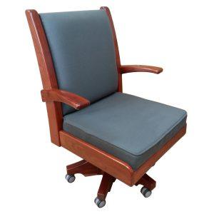 Desk chair in Rhodesian Teak